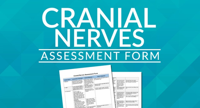 Cranial Nerves Assessment Cheat Sheet Nclex Quiz